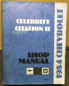 1984 Chevrolet Celebrity Parts - GMPartsGiant.com