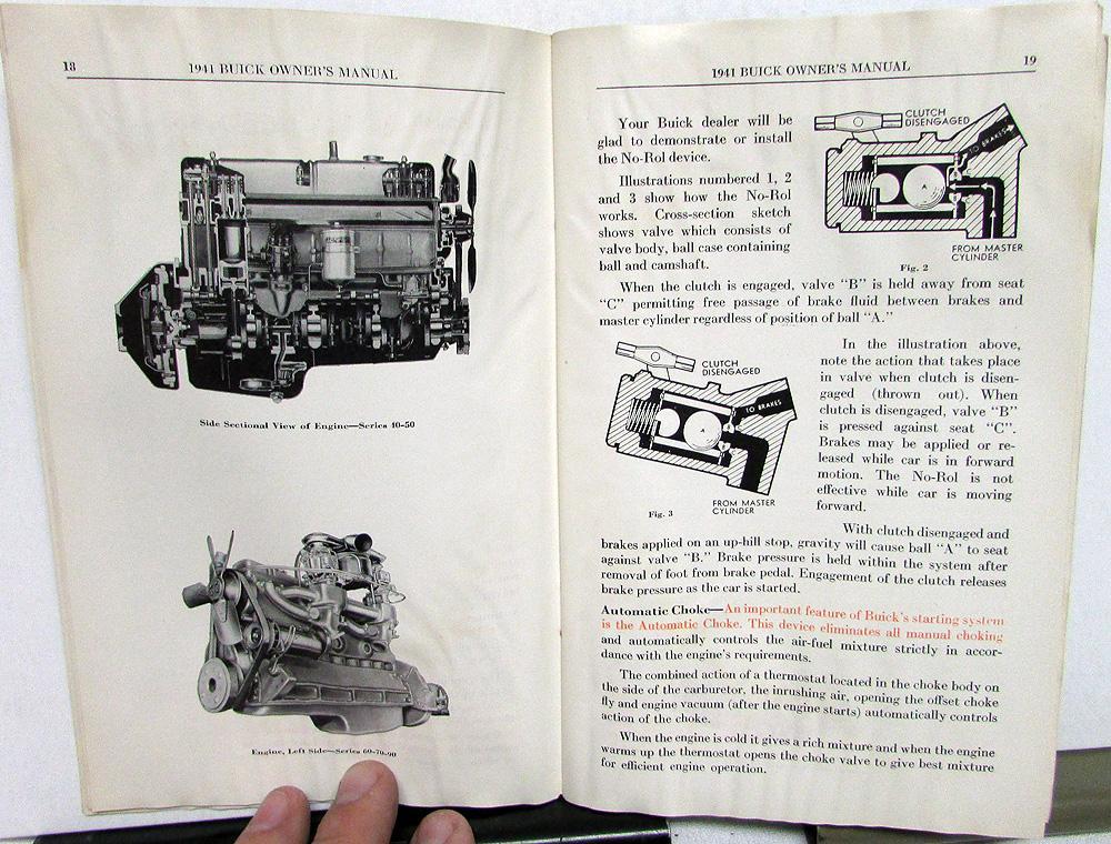 1941 buick fireball eight owners manual original rh autopaper com buick owners manual buick owners manual online