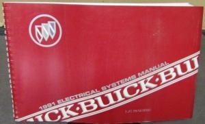 1991 buick dealer electrical wiring diagram service manual lesabre repair