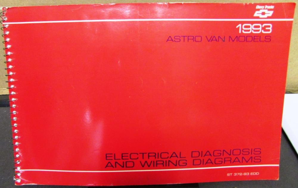 1993 Chevrolet Electrical Wiring Diagram Service Manual