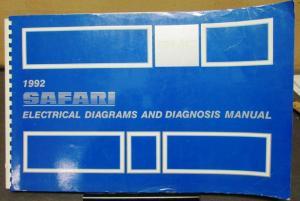 1992 Gmc Electrical Wiring Diagram Service Manual Top Kick Kodiak Med Duty Fc