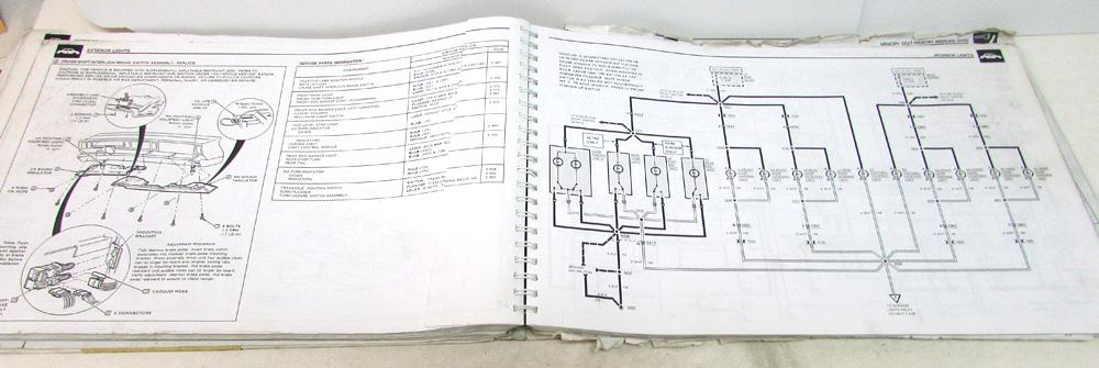 1991 buick electrical wiring diagram service manual park avenue ultra repair