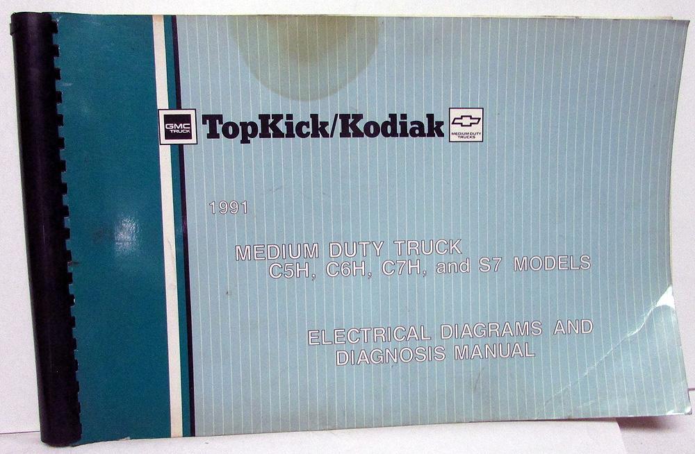 Electric Wiring Diagram Book : 1991 gmc electrical wiring diagram service manual top kick kodiak