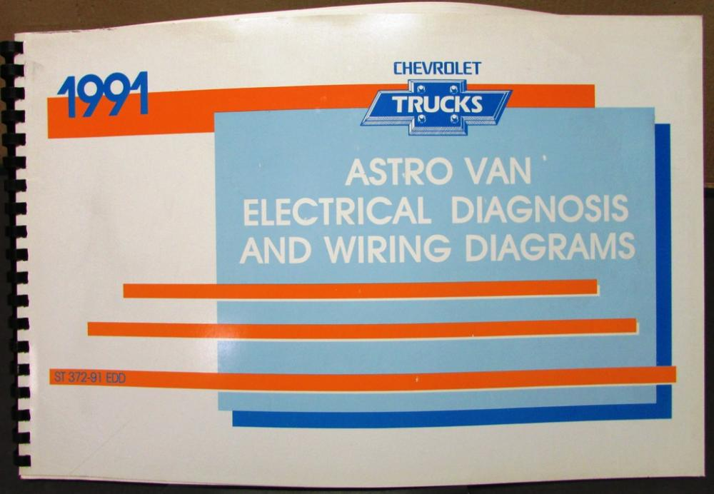 chevrolet electrical wiring diagram service manual astro van models rh autopaper com 1991 chevy k1500 wiring diagram 1991 chevy s10 wiring diagram