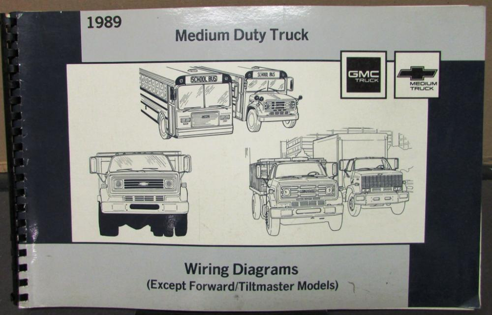 1989 gmc electrical wiring diagram service manual medium duty truck rh autopaper com 1989 gmc sierra tail light wiring diagram GMC Truck Electrical Wiring Diagrams