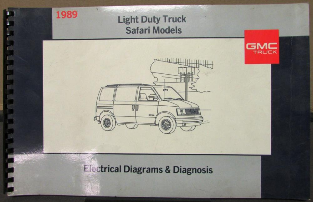1989 gmc electrical wiring diagram service manual light ... 1989 ford wiring harness diagrams