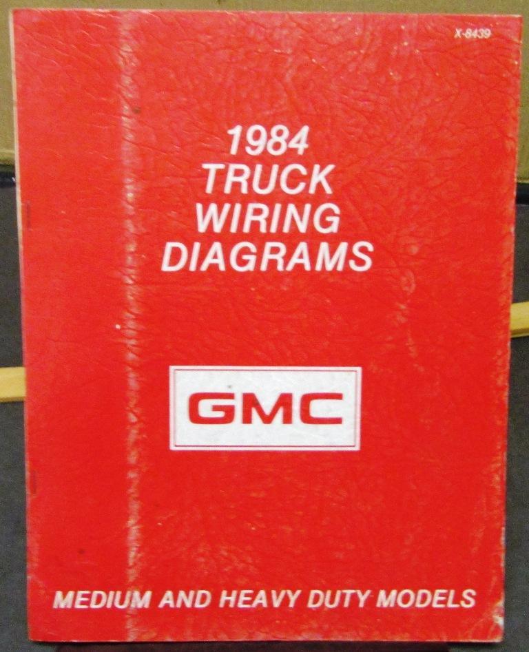 GMC Electrical Wiring Diagram Dealer Manual Medium & Heavy Duty Trucks