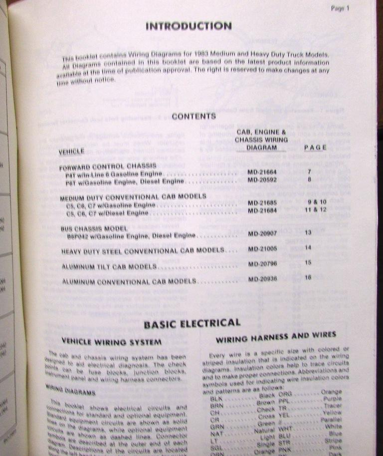 Dorable heavy duty truck wiring diagrams festooning schematic 1983 gmc electrical wiring diagram dealer manual medium heavy duty cheapraybanclubmaster Image collections