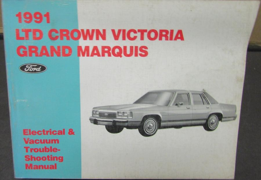 1991 ford ltd crown vic mercury grand marquis electrical vacuum rh autopaper com 2003 Mercury Marquis Repair Manual 2003 Mercury Marquis Repair Manual
