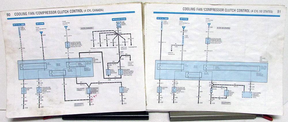 Swell 1985 Ford Mercury Dealer Electrical Vacuum Diagram Manual Mustang Wiring Digital Resources Dylitashwinbiharinl