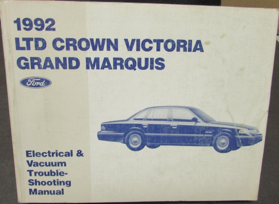 1992 ford ltd crown vic mercury grand marquis electrical. Black Bedroom Furniture Sets. Home Design Ideas