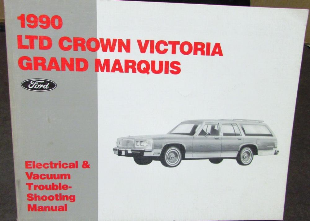 1990 ford mercury electrical vacuum diagram crown victoria ltd rh autopaper com
