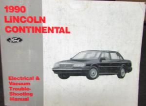 Phenomenal 1990 Lincoln Dealer Electrical Vacuum Diagram Service Manual Town Car Wiring Cloud Strefoxcilixyz