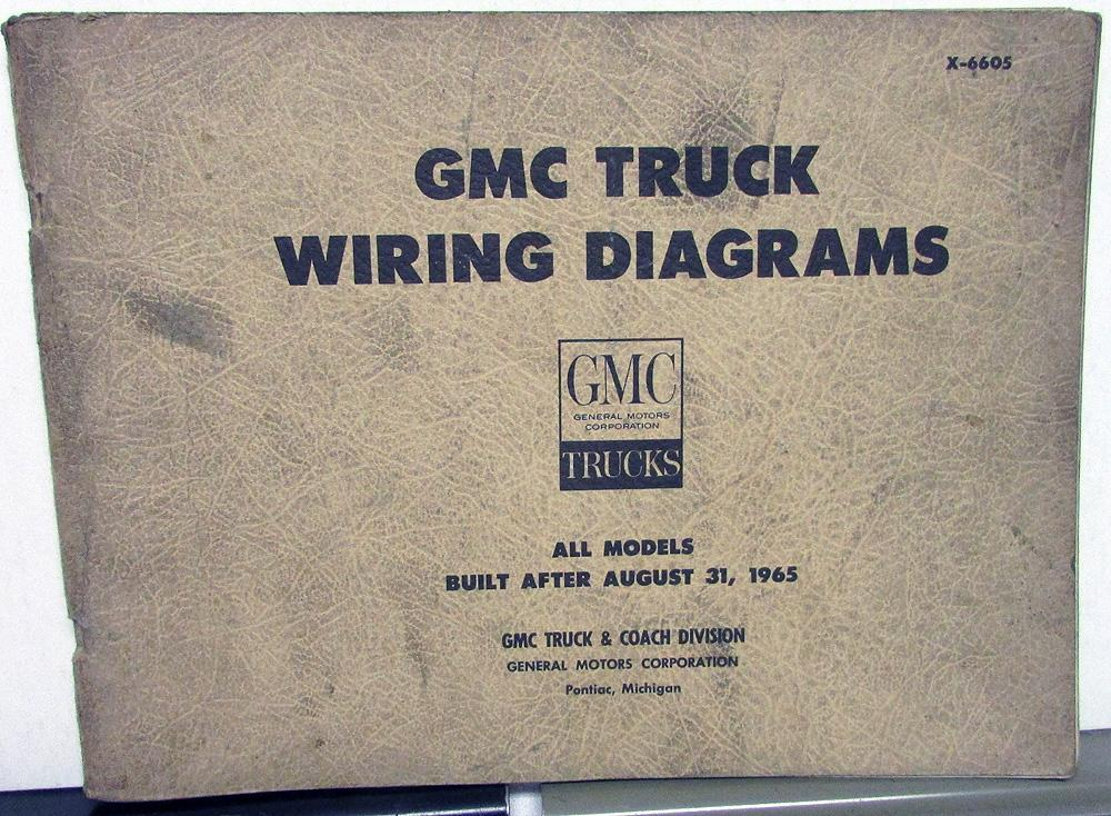 1966 Gmc Dealer Electrical Wiring Diagram Service Manual All Truck Rhautopaper: Gmc General Trucks Wiring Diagram At Gmaili.net