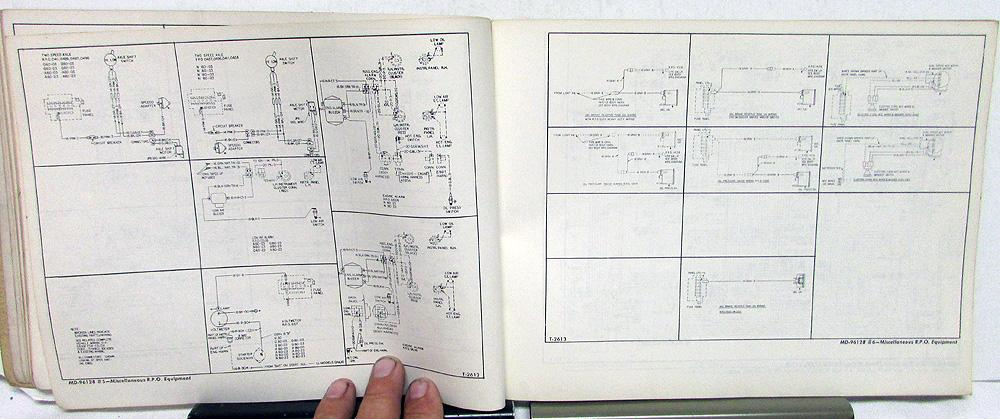 1966 gmc dealer electrical wiring diagram service manual all truck models