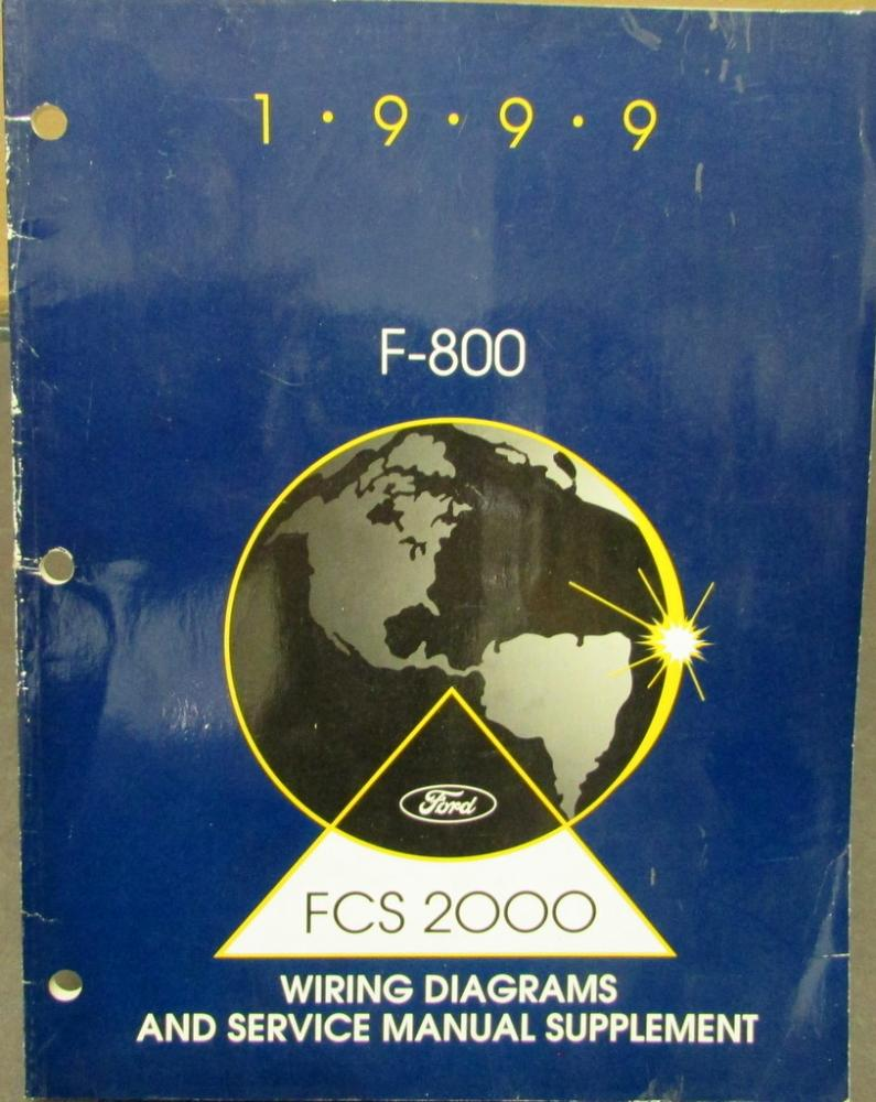 1999 f 800 wiring diagram 1999 ford dealer electrical wiring diagram service manual ...