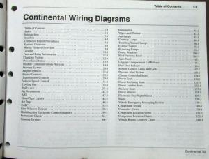 2000 lincoln continental wiring diagram 2002 lincoln dealer electrical wiring diagram service ... #14