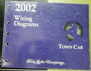 2002 Lincoln Continental Vols 1 2 Service Shop Repair Manual Original