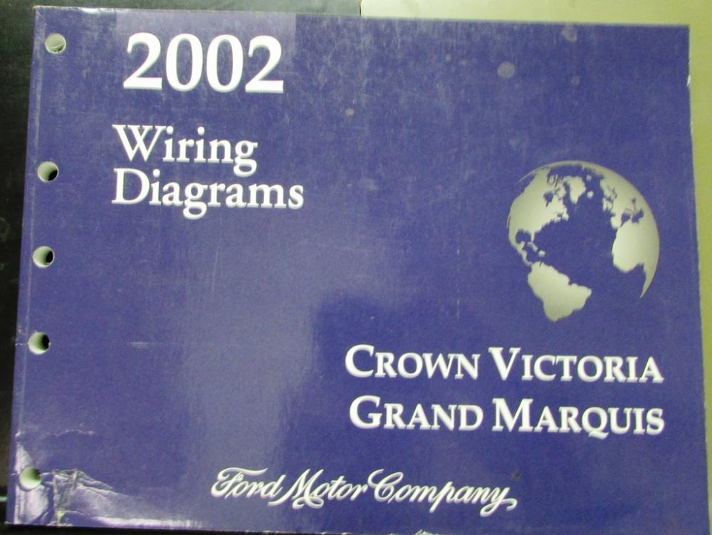 2002 ford crown victoria wiring diagram 2002 ford mercury electrical wiring diagram manual crown victoria  electrical wiring diagram manual