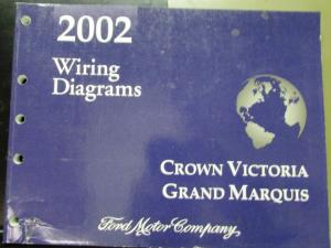 2002 ford crown victoria wiring diagram 2002 ford mercury electrical wiring diagram manual crown ... #1