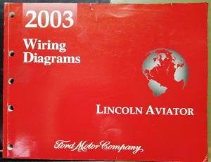 2003 lincoln dealer electrical wiring diagram service. Black Bedroom Furniture Sets. Home Design Ideas