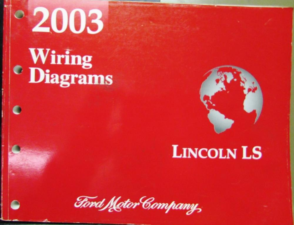 2003 Lincoln Ls Wiring Diagram Manual Guide. 2003 Lincoln Dealer Electrical Wiring Diagram Service Manual Ls Models Rh Autopaper Subaru Forester. Ford. Ford Lincoln Ls Diagrams At Scoala.co
