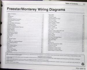 wiring diagram for 2005 mercury monterey 2004 ford mercury electrical wiring diagram manual ...