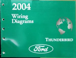 2004 ford electrical wiring diagram service manual thunderbird 59 thunderbird ford thunderbird wiring diagram #3
