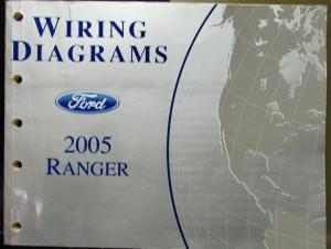 2005 ford ranger wiring diagram 2005 ford electrical wiring diagram service manual ranger ... ford ranger wiring diagram 1998