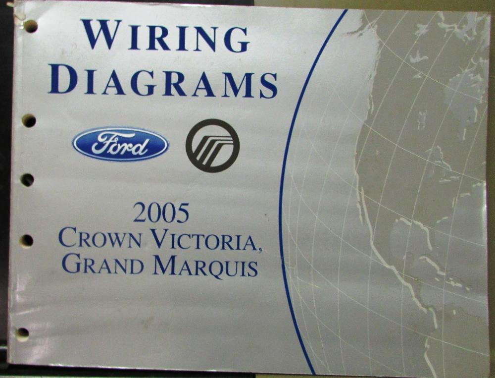 wiring diagram for 2005 mercury grand marquis 2005 ford mercury electrical wiring diagram manual crown ...
