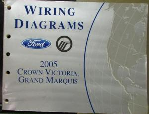 2005 ford mercury electrical wiring diagram manual crown vic grand rh autopaper com 1993 Crown Victoria Wiring Diagram Ford Alternator Wiring Diagram