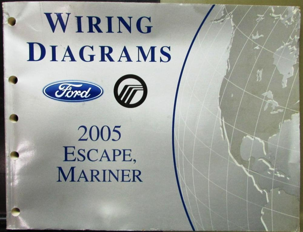 img9131_20698 ford mercury electrical wiring diagram service manual escape mariner 2002 5.4 Wiring Harness Diagram at fashall.co