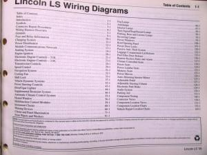 2005 lincoln ls wiring diagram 2005 lincoln ls fuse diagram