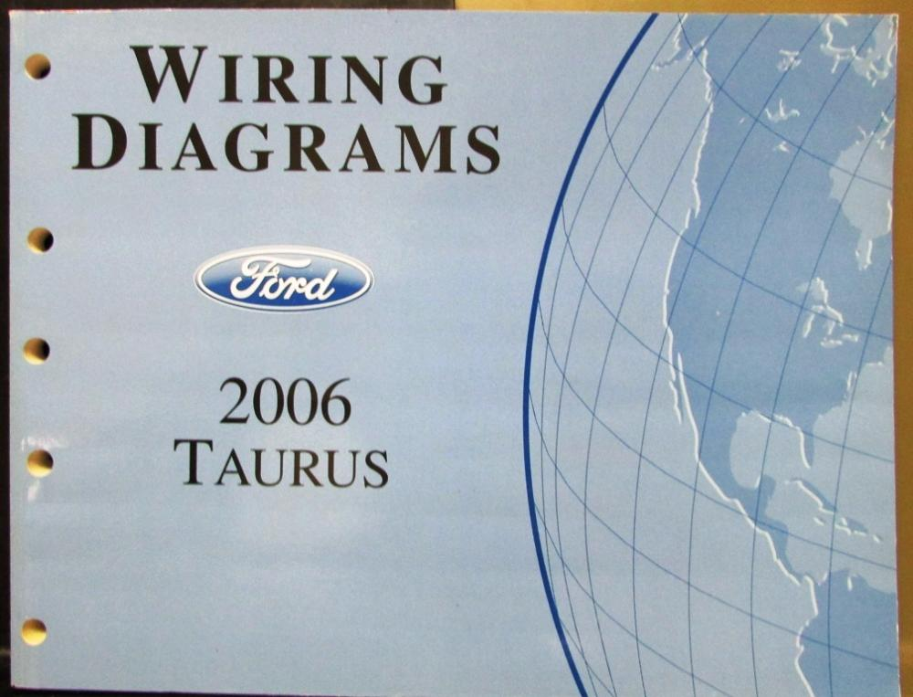 2006 ford taurus service manual