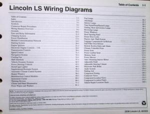 2006 lincoln dealer electrical wiring diagram service 2006 lincoln ls workshop manual lincoln ls workshop manual
