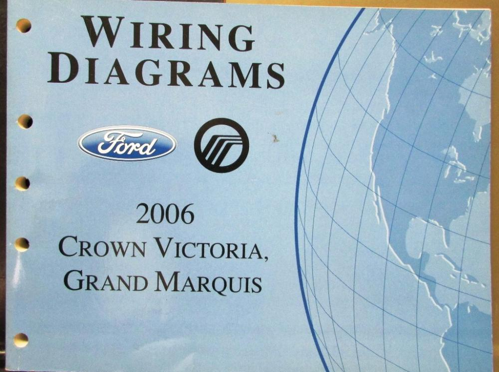 Starting 2006 Ford Crown Victoria Wiring Diagrams - Custom Wiring ...