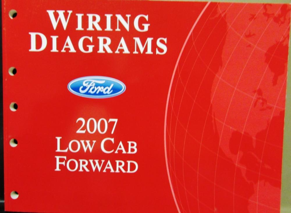 2007 Ford Dealer Electrical Wiring Diagram Service Manual Low Cab Rhautopaper: 2007 Ford Truck Wiring Diagram At Gmaili.net