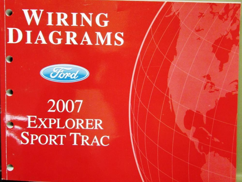 2007 ford explorer sport trac wiring diagram 2007 ford dealer electrical wiring diagram service manual explorer on 2007 ford explorer sport trac wiring diagram