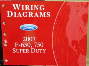 2007 f650 wiring harness diagram 2007 ford dealer electrical wiring diagram manual f650 750 ... 2007 impala wiring harness #14