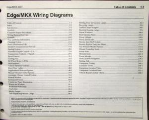 2007 ford lincoln dealer electrical wiring diagram service ... 07 lincoln mkx fuse diagram #15