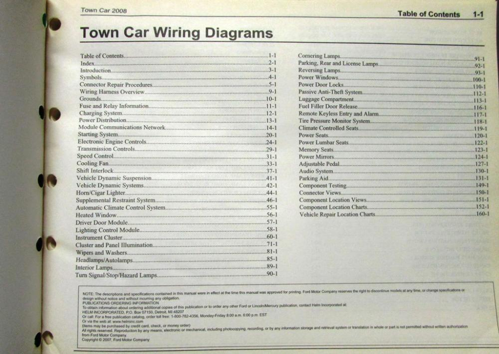 2008 lincoln town car wiring diagram 1990 lincoln town car wiring diagram 2008 lincoln dealer electrical wiring diagram service ...