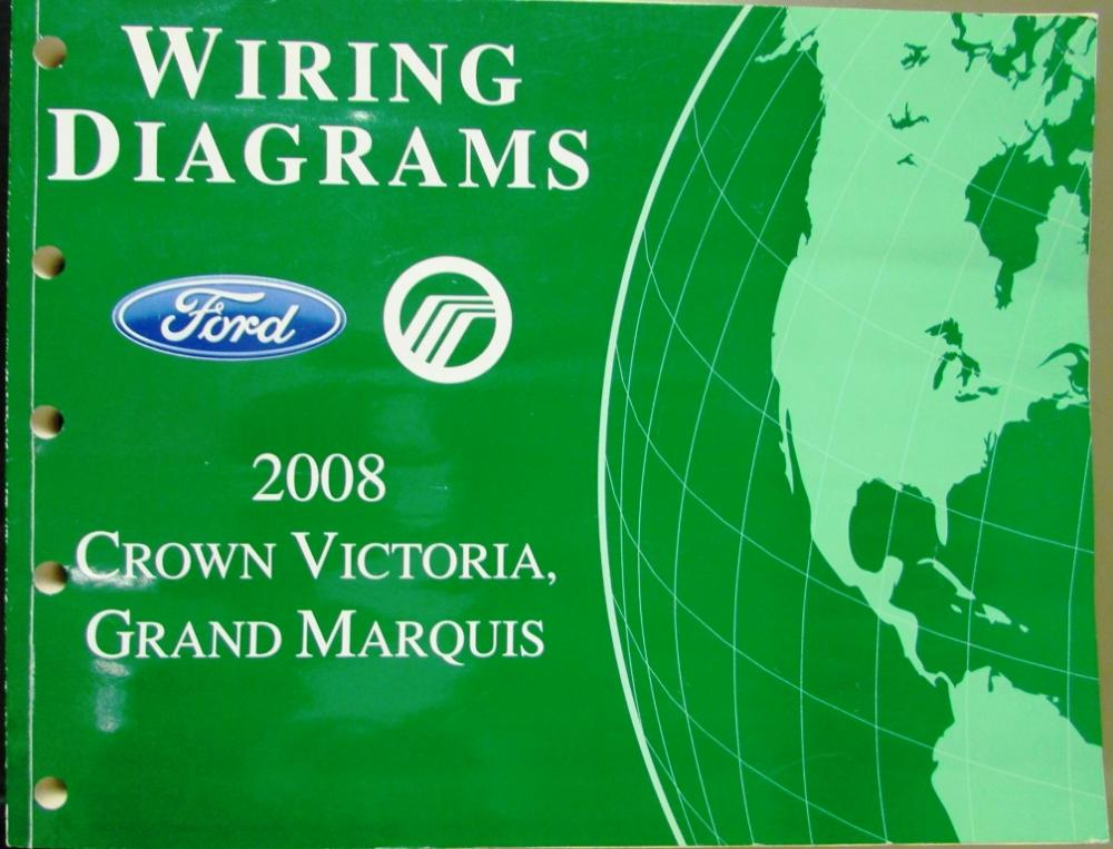 2008 ford mercury electrical wiring diagram manual crown vic grand 2008 ford mercury electrical wiring diagram manual crown vic grand marquis asfbconference2016 Images