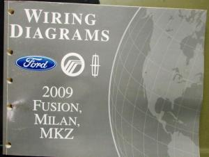 2009 ford mercury lincoln electrical wiring diagram manual ... 2010 lincoln mkz wiring diagram