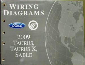 2009 ford mercury dealer electrical wiring diagram service manual rh autopaper com 2010 Taurus 2010 Taurus