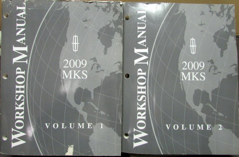 2009 lincoln mks service shop repair manual original rh autopaper com 2016 Lincoln MKS Interior 2009 lincoln mkz repair manual