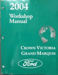 2004 ford crown victoria mercury grand marquis service. Black Bedroom Furniture Sets. Home Design Ideas