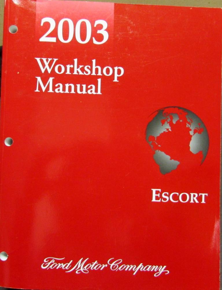 2003 ford escort service shop repair manual original rh autopaper com 2003 ford focus service manual 2003 ford escape service manual pdf