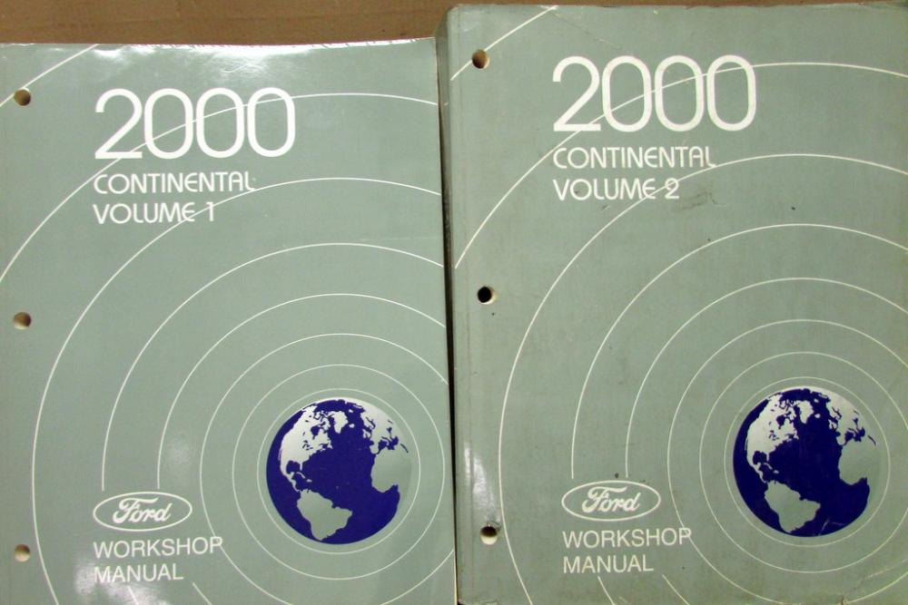 2000 lincoln continental vols 1 2 service shop repair manual original rh autopaper com 1986 Lincoln Continental Brake Module 2000 Lincoln Continental Engine Diagram