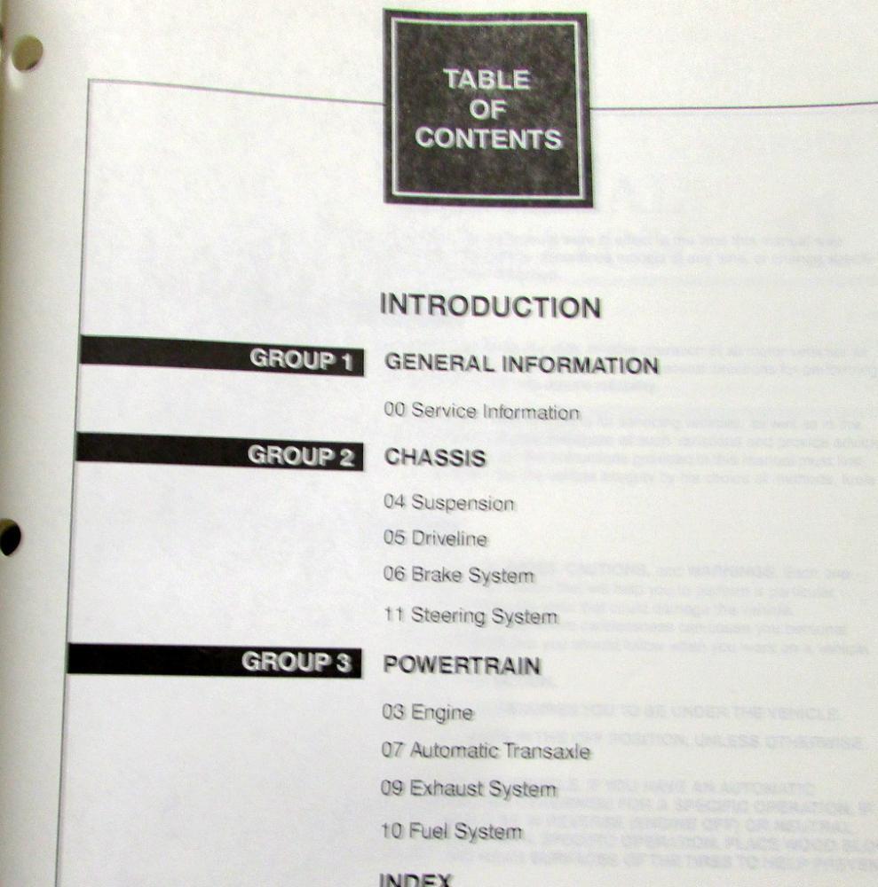 1998 lincoln continental volume 1 2 service shop repair manual original. Black Bedroom Furniture Sets. Home Design Ideas