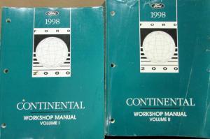 1998 lincoln dealer electrical vacuum diagram manual. Black Bedroom Furniture Sets. Home Design Ideas